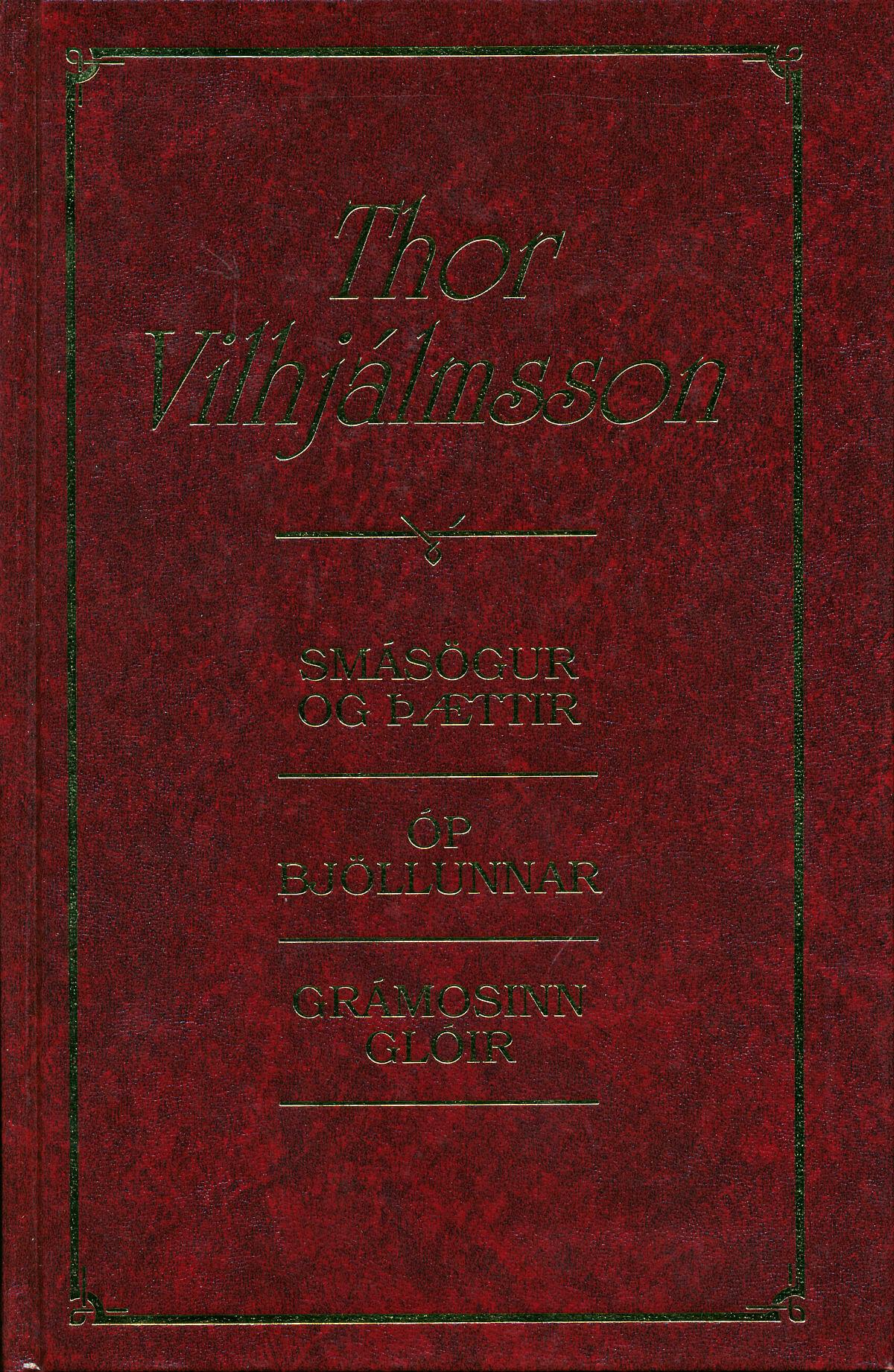 Thor Vilhjálmsson stórbók