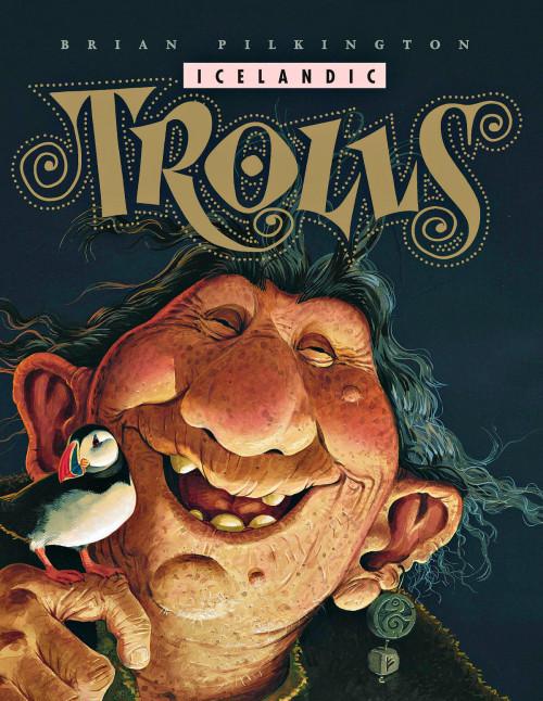 Icelandic Trolls - Brian Pilkington