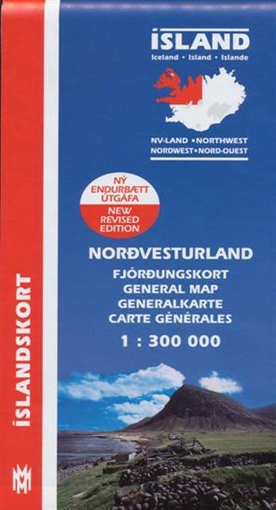 Fjórðungskort Norðvesturland