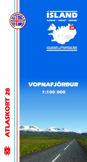 Atlaskort 29 Vopnafjörður