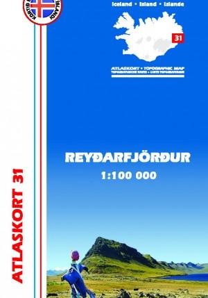 Atlaskort nr. 31 - Reyðarfjörður