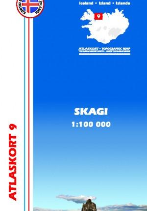 Atlaskort Skagi