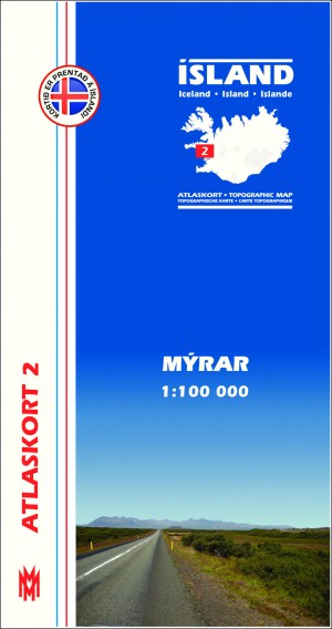 Atlaskort 2 Mýrar