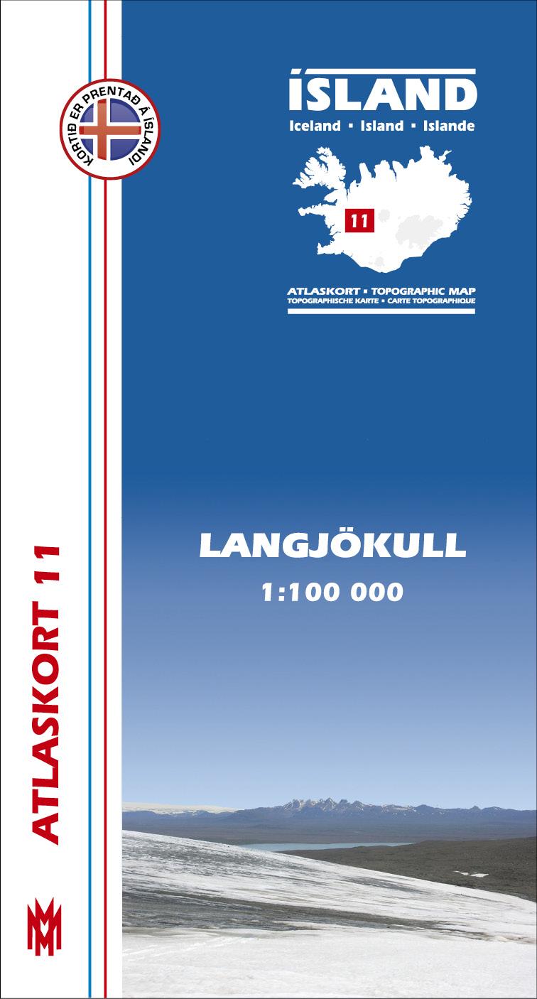 Atlaskort: Langjökull