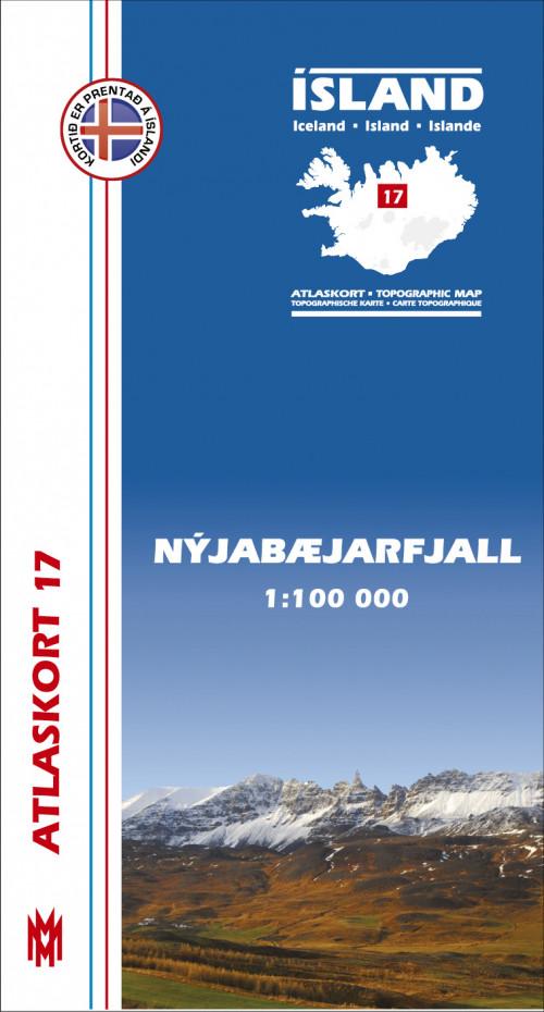 Atlaskort 17 - Nýjabæjarfjall