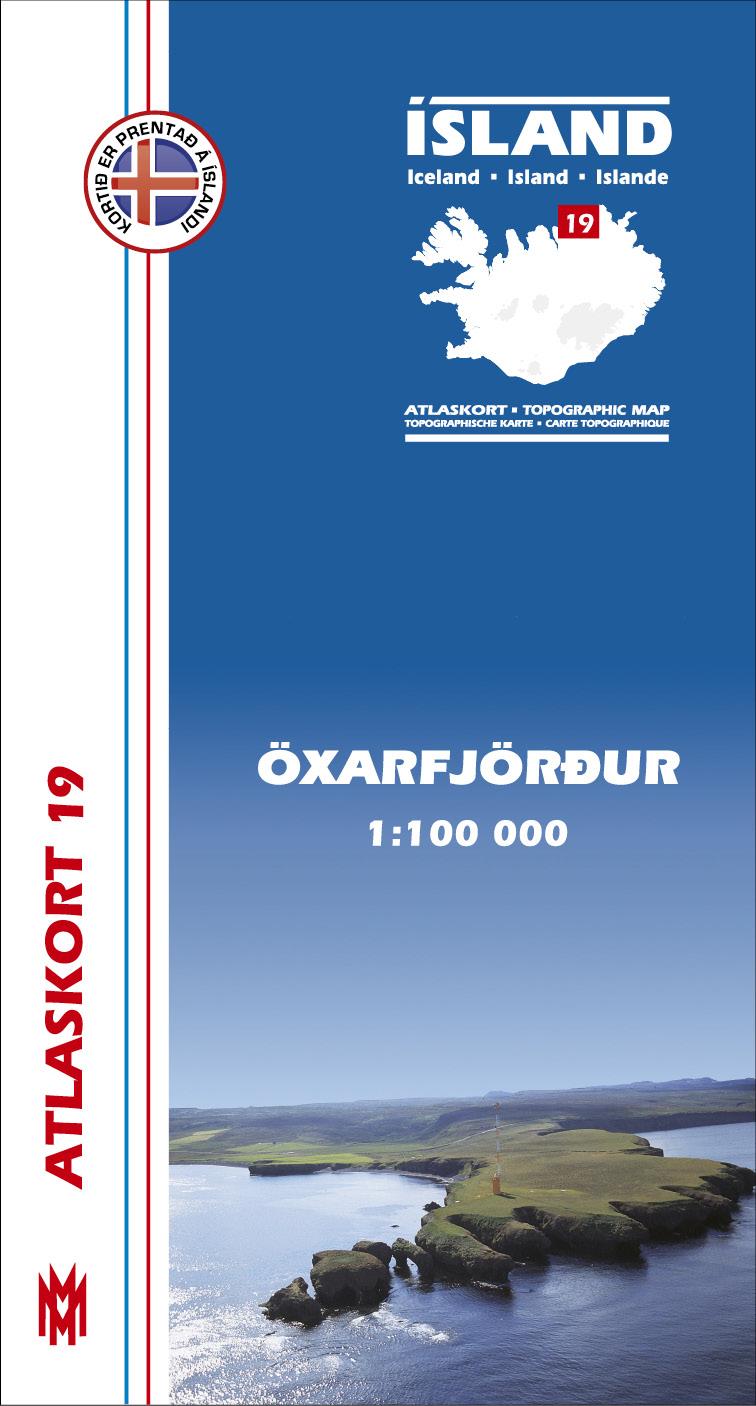 Atlaskort 19 - Öxarfjörður