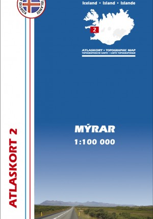 Atlaskort 2 - Mýrar