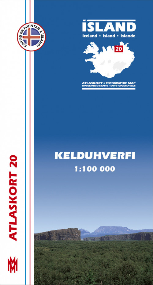 Atlaskort 20 - Kelduhverfi