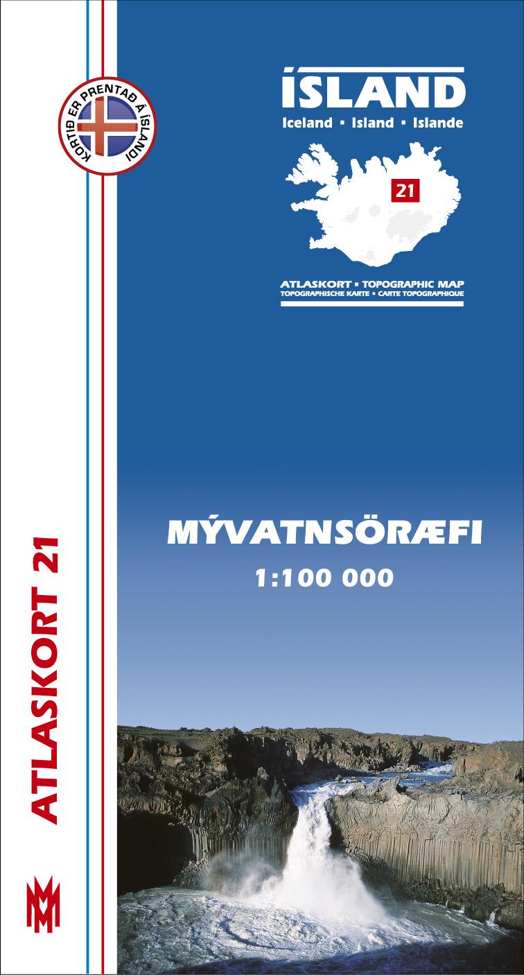 Atlaskort: Mývatnsöræfi