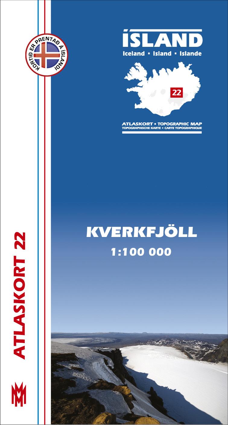 Atlaskort: Kverkfjöll
