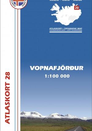 Atlaskort 28 - Vopnafjörður