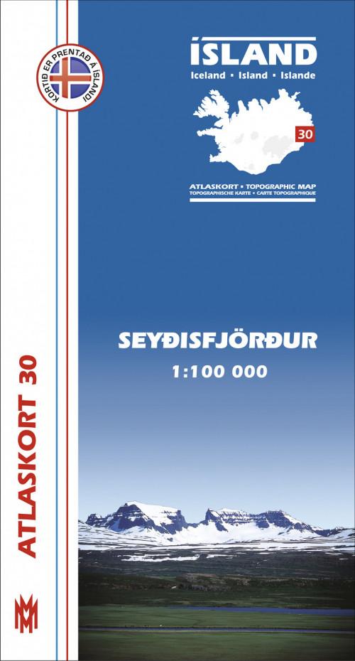 Atlaskort 30 - Seyðisfjörður