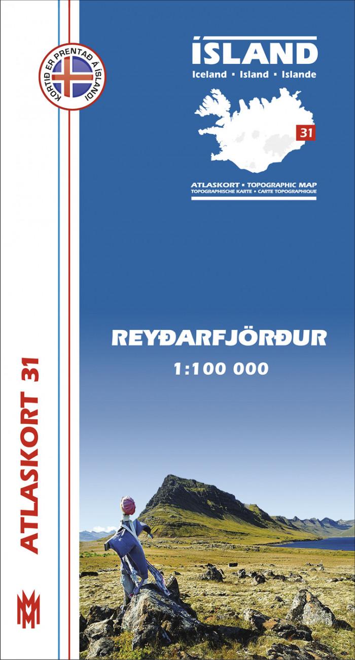 Atlaskort 31 - Reyðarfjörður