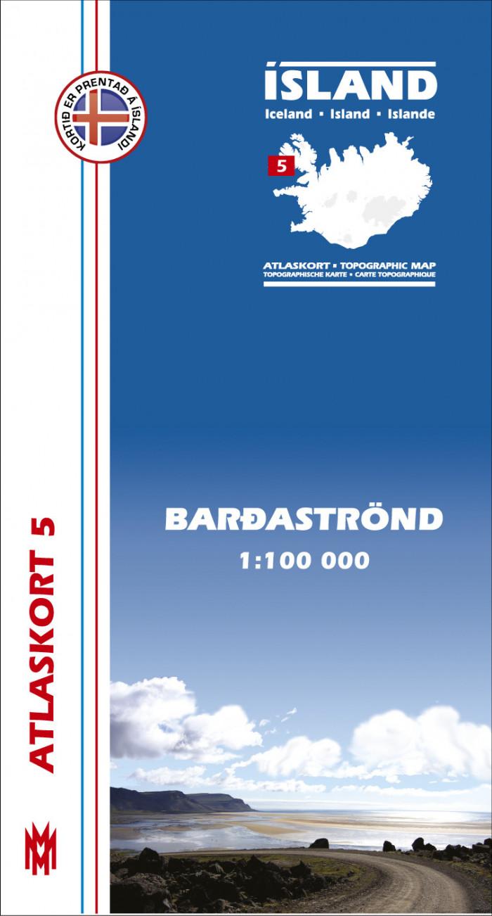 Atlaskort 5 - Barðaströnd