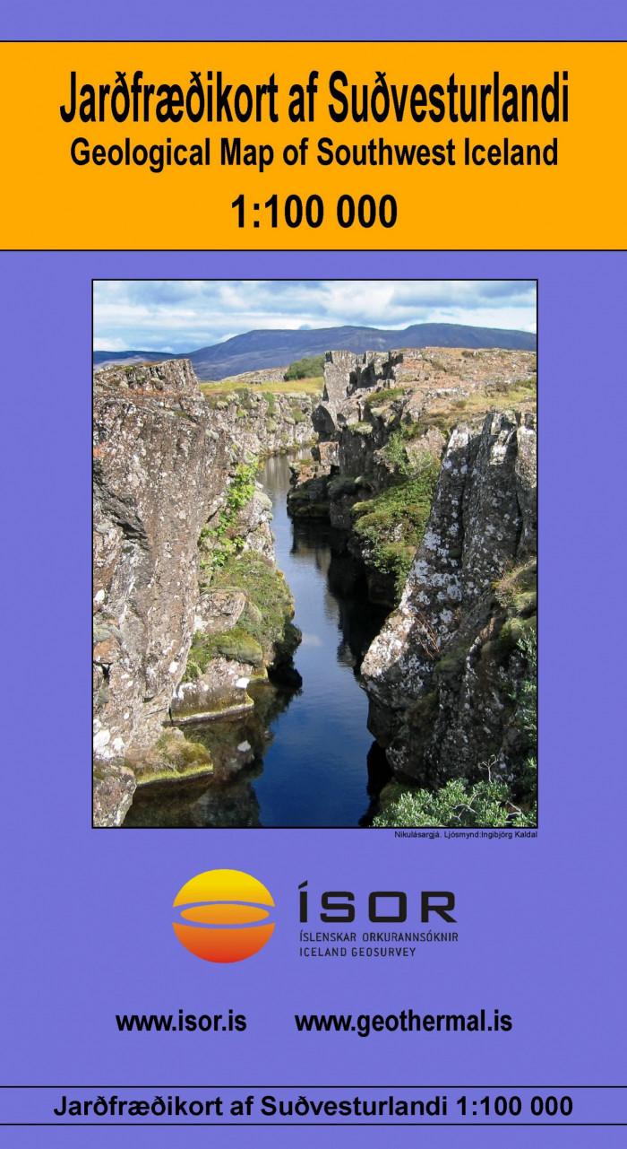 Jarðfræðikort af Suðvesturlandi