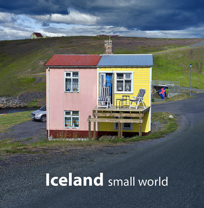 Iceland Small World large format