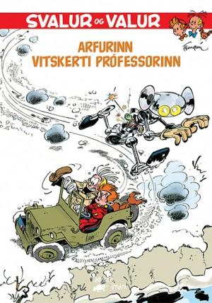 Svalur og Valur 2 - Arfurinn - Vitskerti prófessorinn
