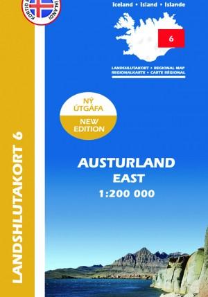 Landshlutakort 6 - Austurland