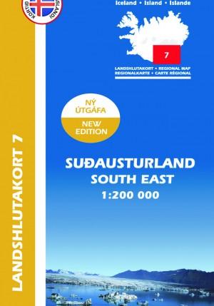 Landshlutakort 7 - Suðausturland