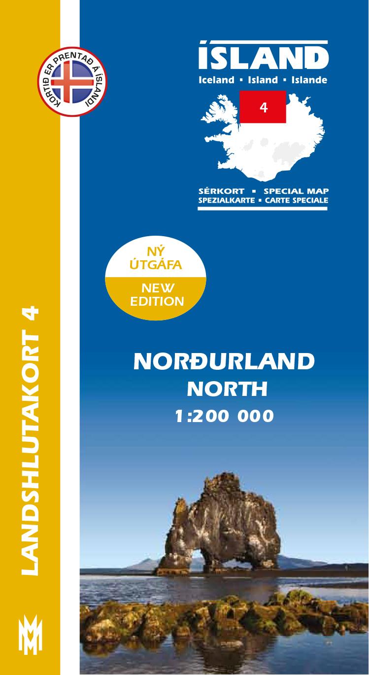 Landshlutakort 3 - Norðurland