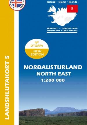 Landshlutakort 5 - Norðausturland