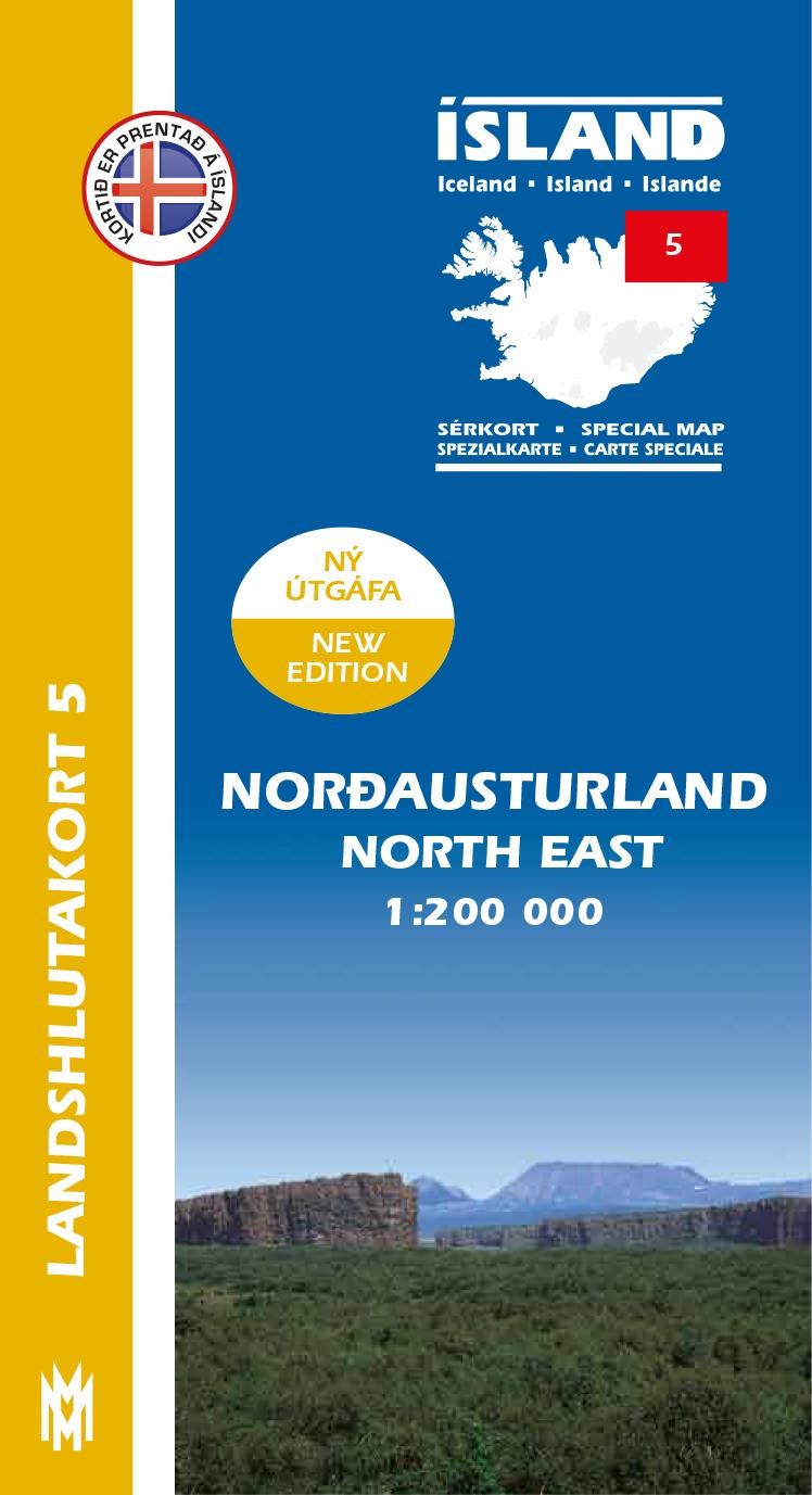Landshlutakort 5 – Norðausturland