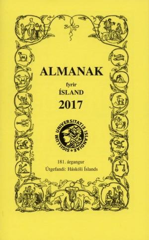 Almanak Háskóla Íslands 2017