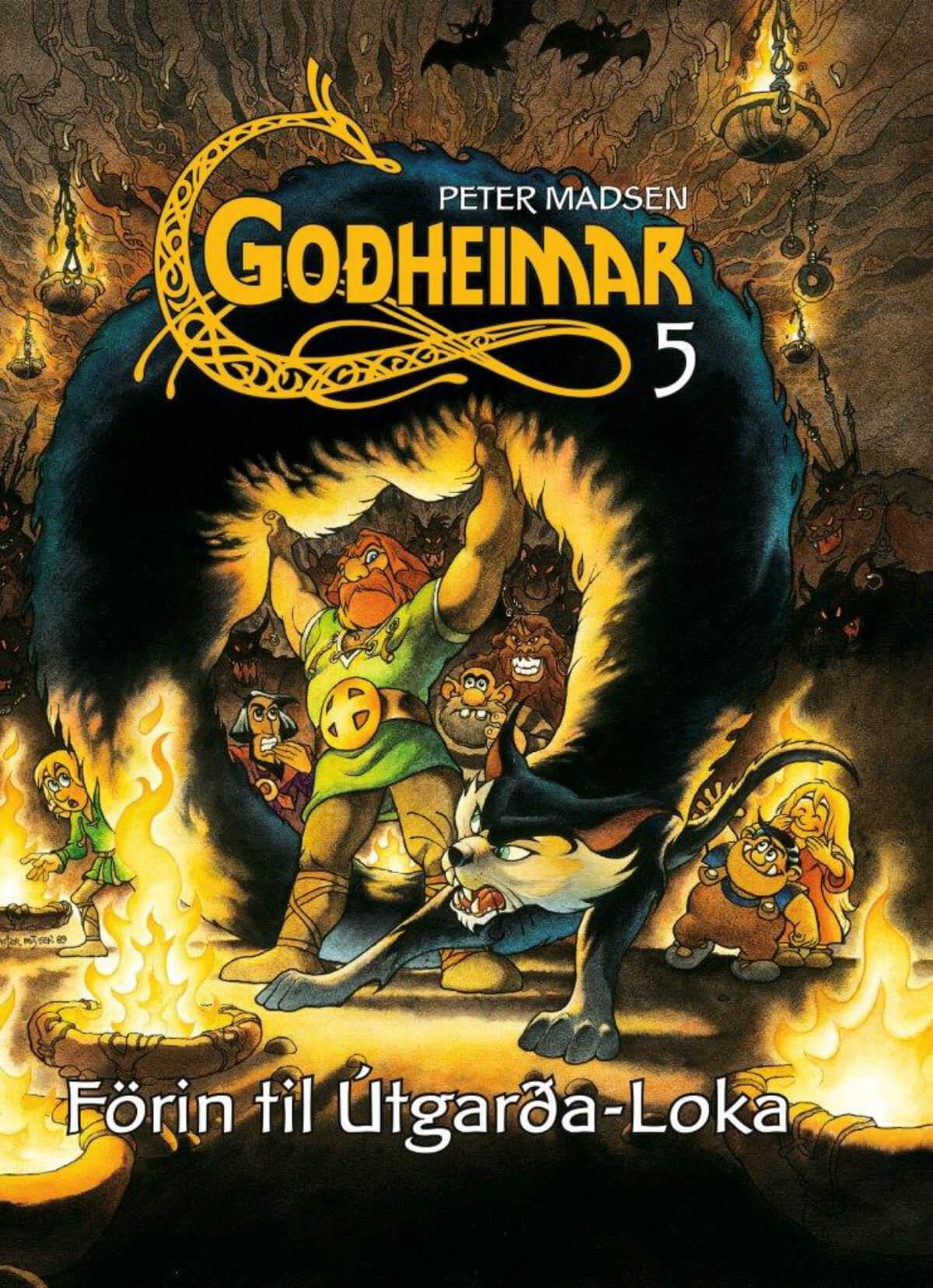 Goðheimar 7 – Krækt í orminn