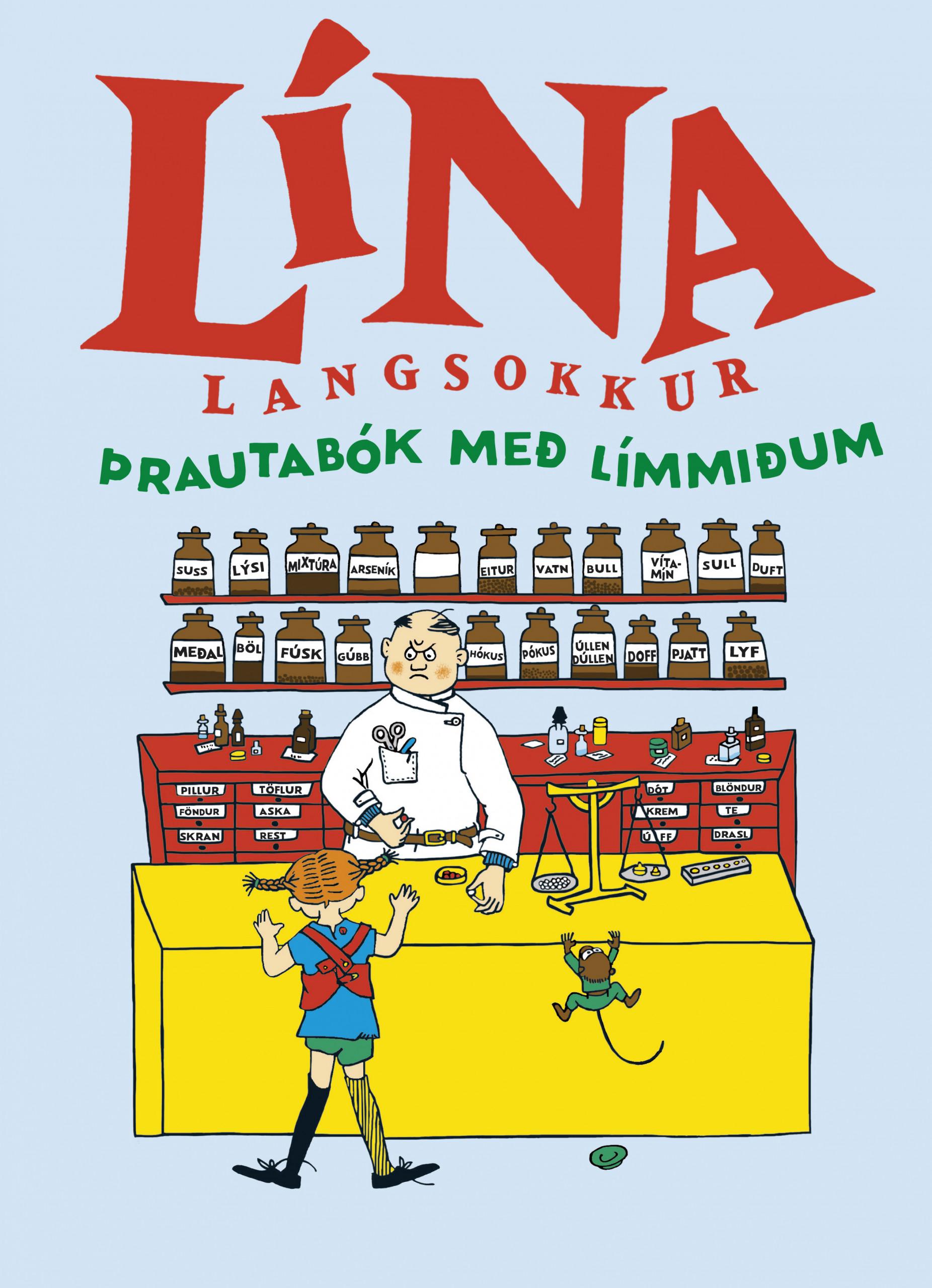 Þekkir þú Línu langsokk?