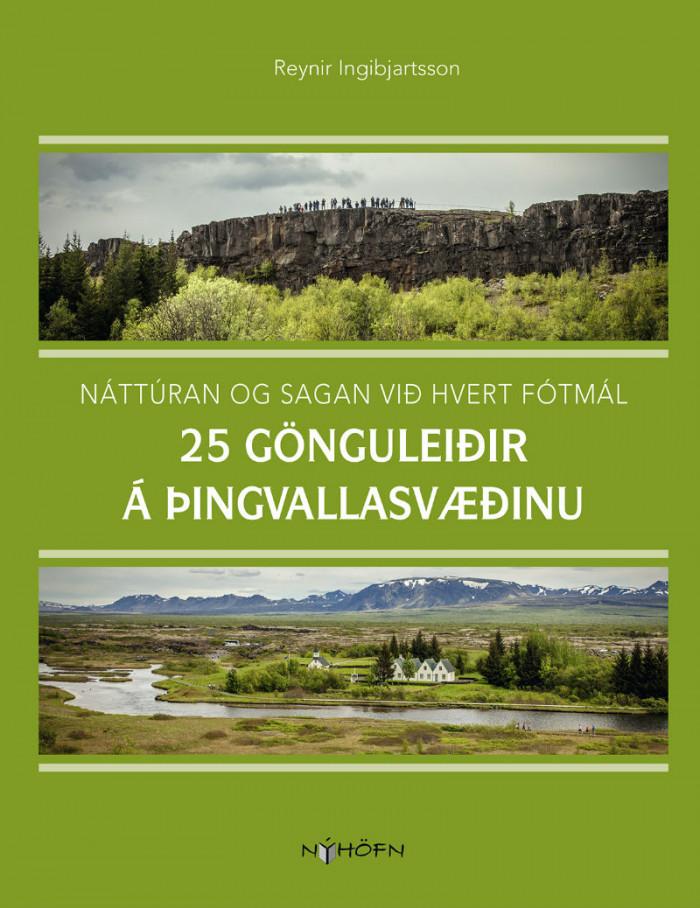 25 gönguleiðir á Þingvallasvæðinu