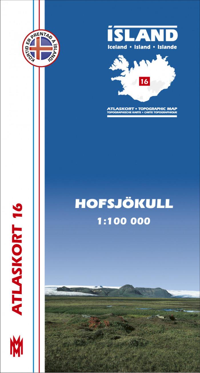 Atlaskort - Hofsjökull