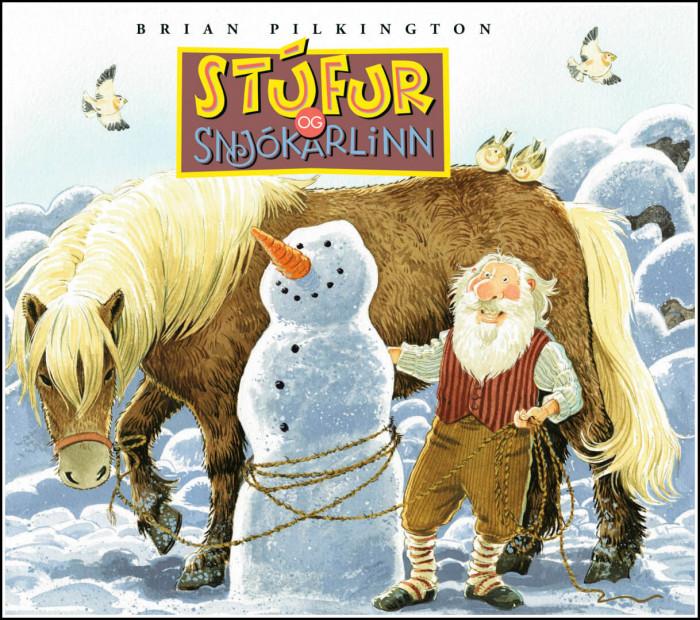 Stúfur og snjókarlinn eftir Brian Pilkington