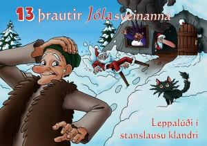 13 þrautir jólasveinanna 2015