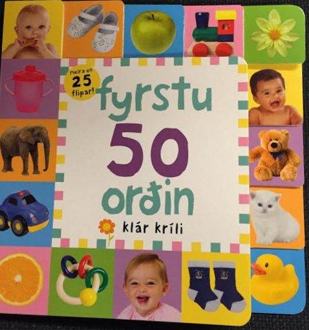 Fyrstu 50 orðin
