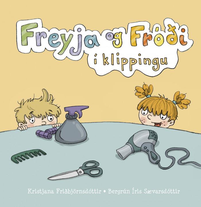 Freyja og Fróði í klippingu