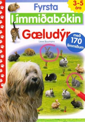 Fyrsta límmiðabókin - Gæludýr