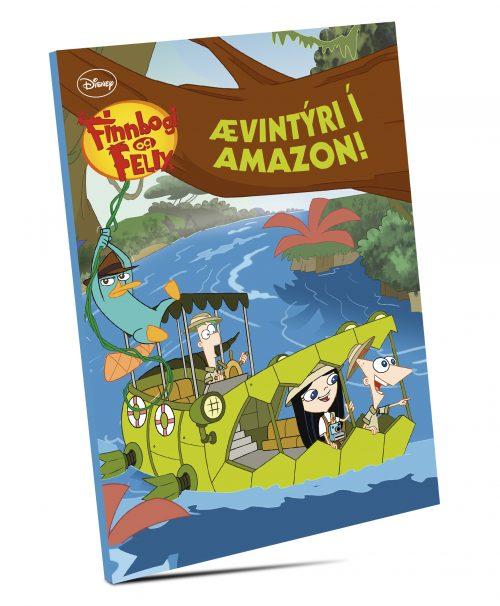 Ævintýri í Amazon - Finnbogi og Felix