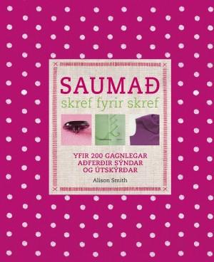 Saumað skerf fyrir skref