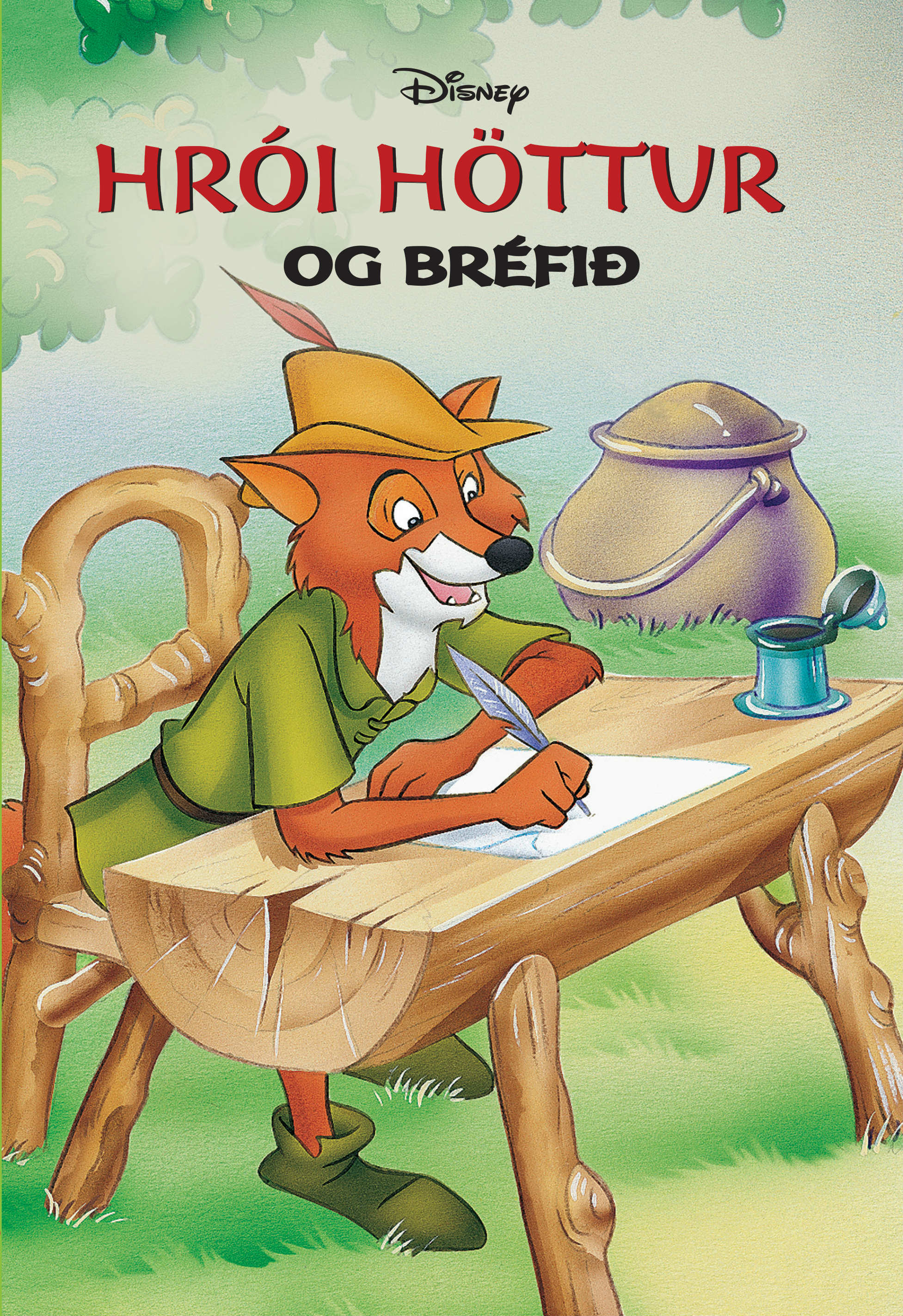 Hrói höttur og bréfið
