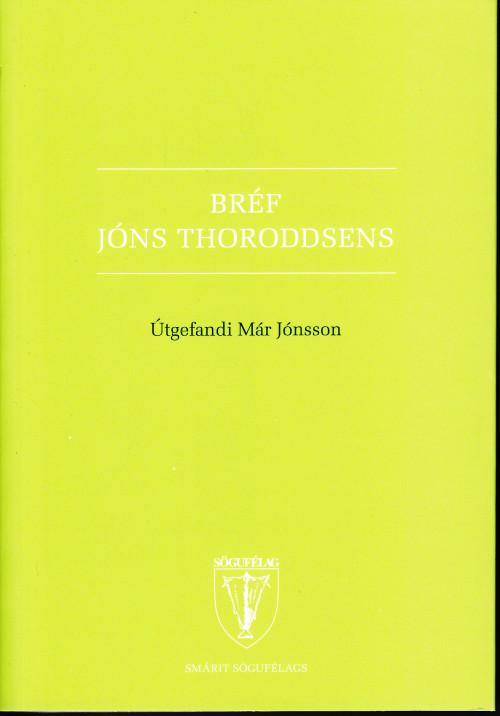 Bréf Jóns Thorodssens