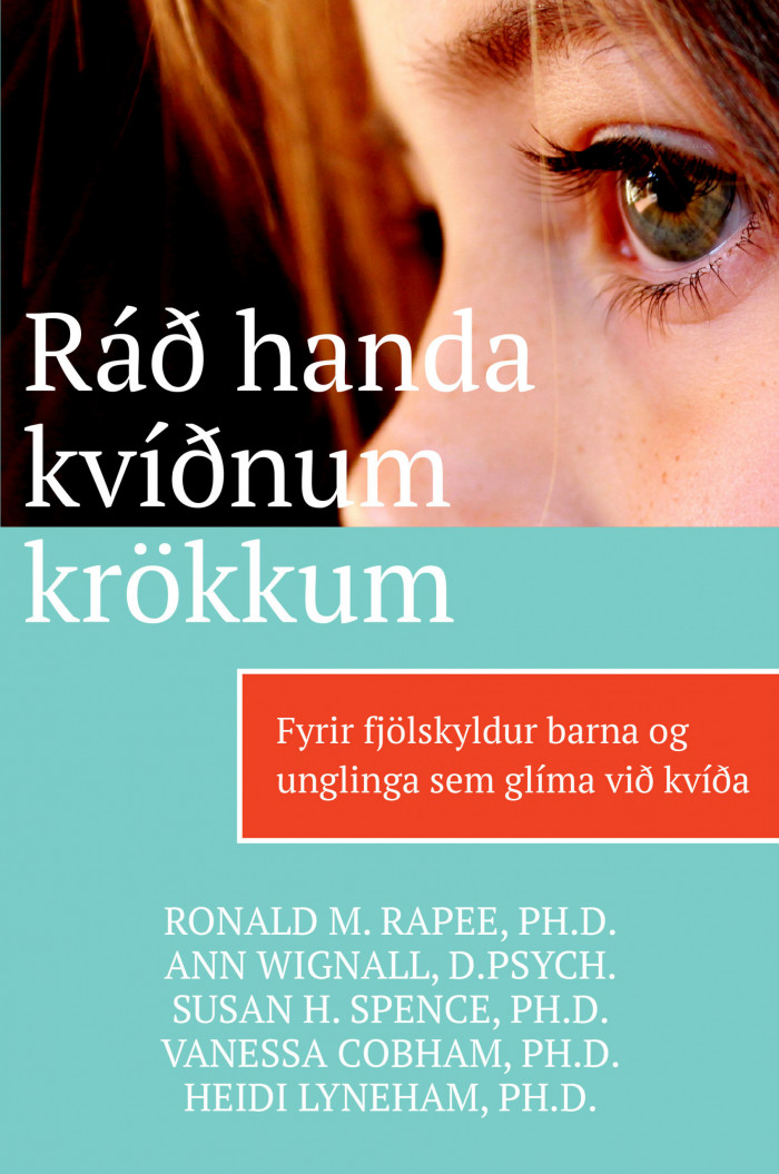 Ráð handa kvíðnum krökkum - vinnubók