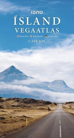 Ísland Vegaatlas 2015