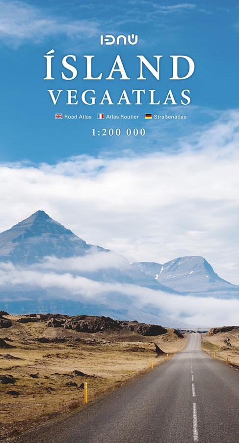 Ísland Vegaatlas 2017