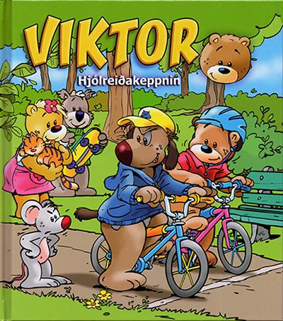 Viktor - hjólreiðakeppnin