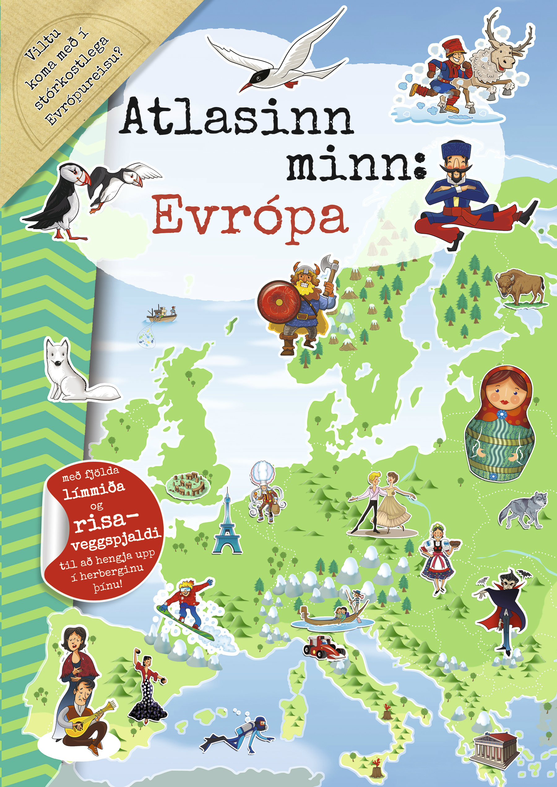 Atlasinn minn - Evrópa