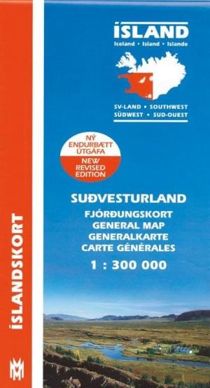 Fjórðungskort Suð-Vesturland