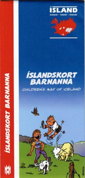 Íslandskort barnanna