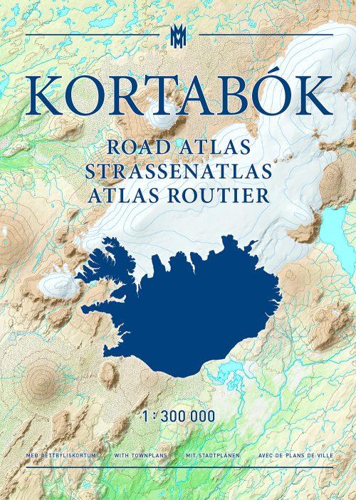 Kortabók / Road atlas / Straßenatlas / Atlas routier 2017-2018 - 1:300.000
