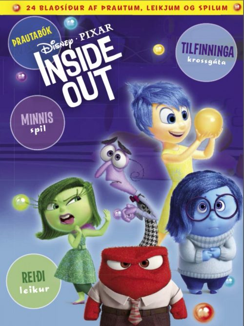Inside Out - þrautabók