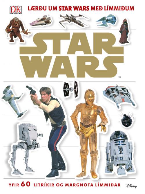Star Wars - Lærðu um Star Wars með límmiðum